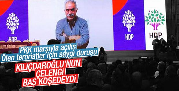 Kemal Kılıçdaroğlu HDP kongresine çelenk gönderdi
