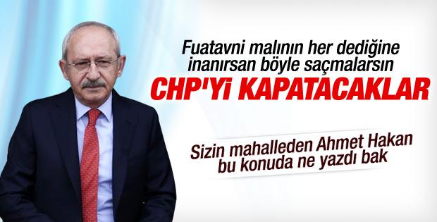 Kılıçdaroğlu CHP'nin kapatılmak istendiğini iddia etti