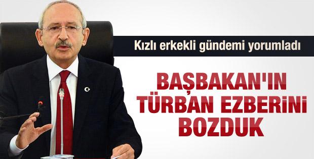 Kılıçdaroğlu: Erdoğan bizi dünyaya rezil ediyor