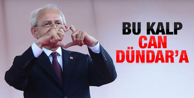 Kılıçdaroğlu'ndan Can Dündar'a destek