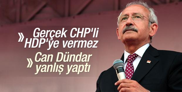 Kılıçdaroğlu: CHP'ye gönül veren HDP'ye oy vermez