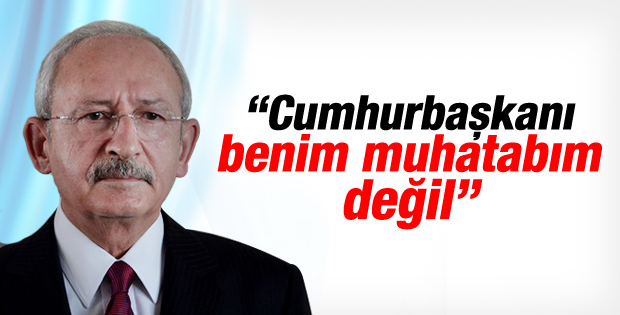 Kılıçdaroğlu Erdoğan'la ilgili soruyu geri çevirdi