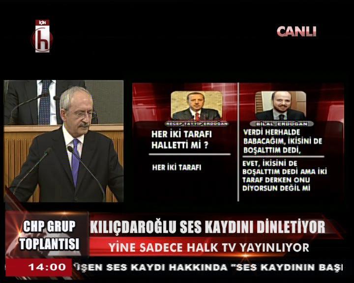 Kılıçdaroğlu CHP grubunda yine kaset yayınladı - izle