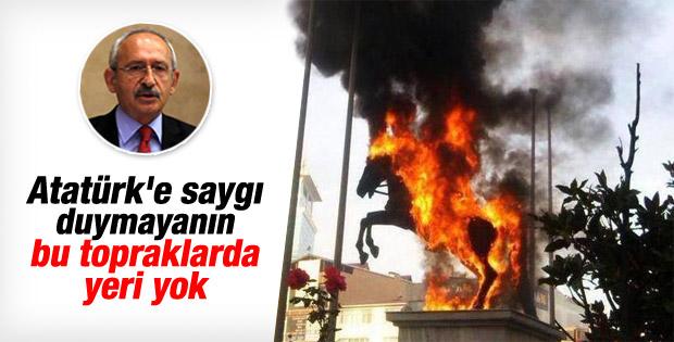 Kılıçdaroğlu'ndan Atatürk büstü ve bayrak yorumu