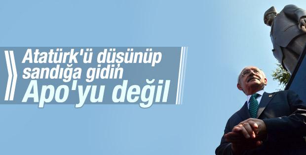 Kılıçdaroğlu İzmir'de oy istedi: Atatürk'ü düşünün