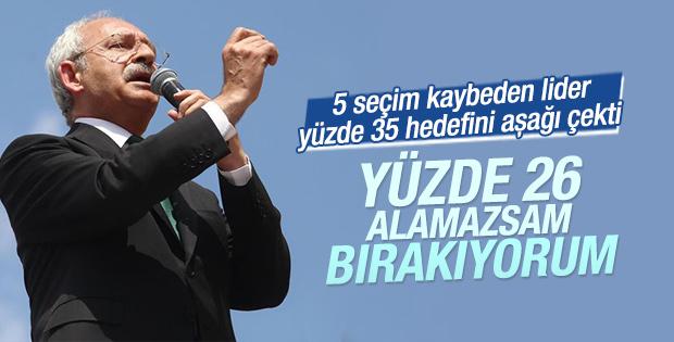 Kemal Kılıçdaroğlu istifa şartını açıkladı