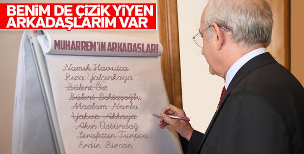 Kılıçdaroğlu'na liste dışı kalan isimler soruldu