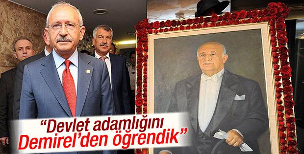 Kemal Kılıçdaroğlu: Siyaseti Demirel'den öğrendik