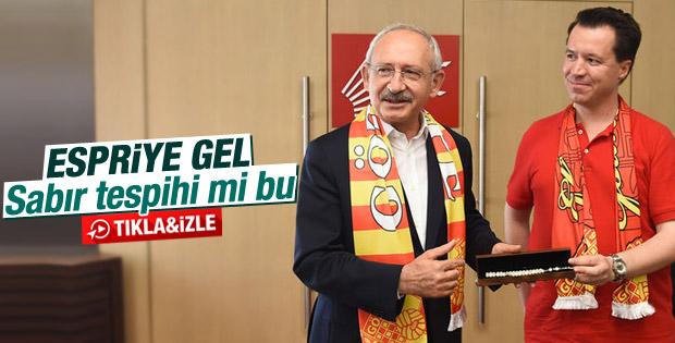 İzmir Göztepeli taraftarlardan Kılıçdaroğlu'na ziyaret