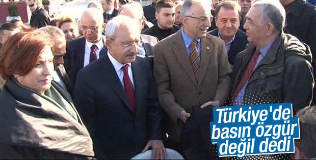 Kılıçdaroğlu'ndan Can Dündar ve Erdem Gül'e ziyaret