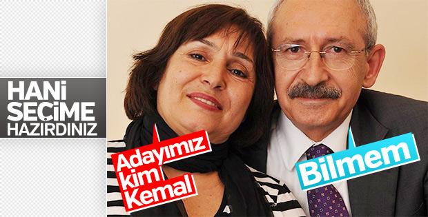 CHP'nin Cumhurbaşkanlığı adayları Kılıçdaroğlu'na soruldu