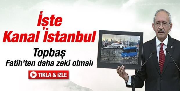 Kemal Kılıçdaroğlu'ndan Kadir Topbaş'a eleştiri İZLE