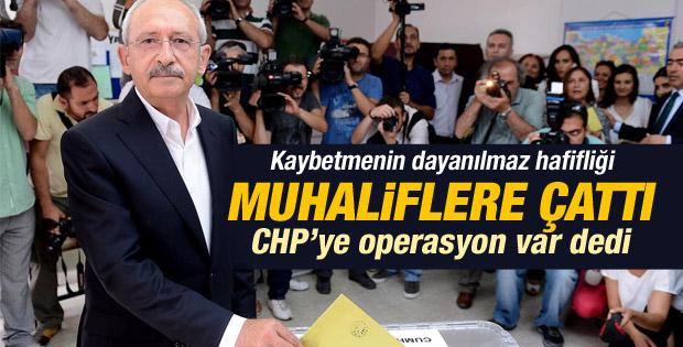 Kılıçdaroğlu'ndan muhaliflere: CHP'nin yakasından düşün