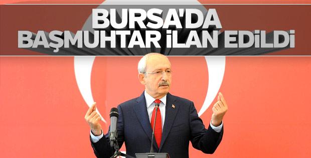 Kılıçdaroğlu 'başmuhtar' oldu