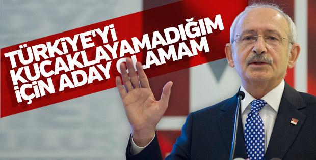 Kılıçdaroğlu'nun aday olmama nedeni kucaklayamaması
