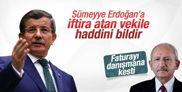 Başbakan Davutoğlu'ndan Kılıçdaroğlu'na sert çağrı