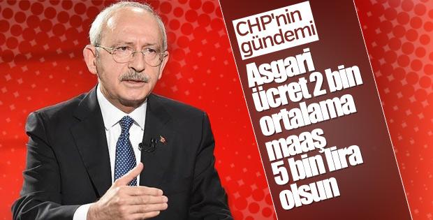 CHP'li Tezcan: Asgari ücret 2 bin lira olsun