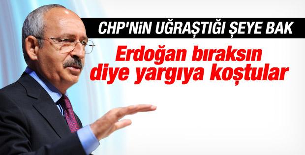 CHP'li Kart Erdoğan için Yargıtay'a başvurdu