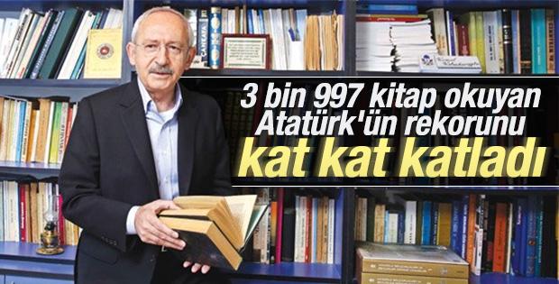 Kılıçdaroğlu'nun 10 bin kitabı var