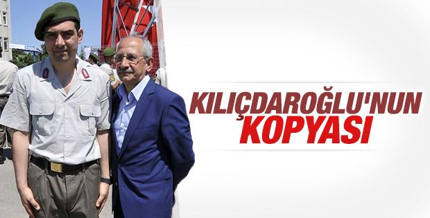 Kocaeli'de Kemal Kılıçdaroğlu'na benzeyen adam