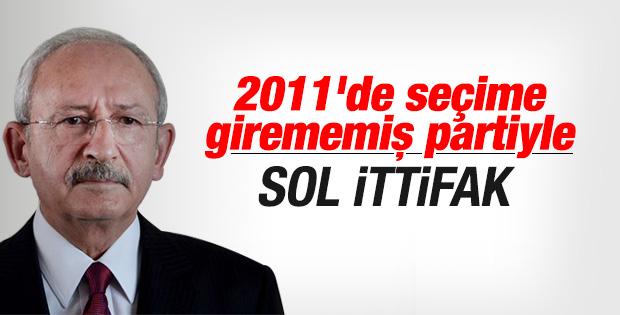 Kılıçdaroğlu ÖDP lideri ile temas kurdu