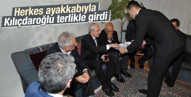 Herkes ayakkabılı Kılıçdaroğlu değil