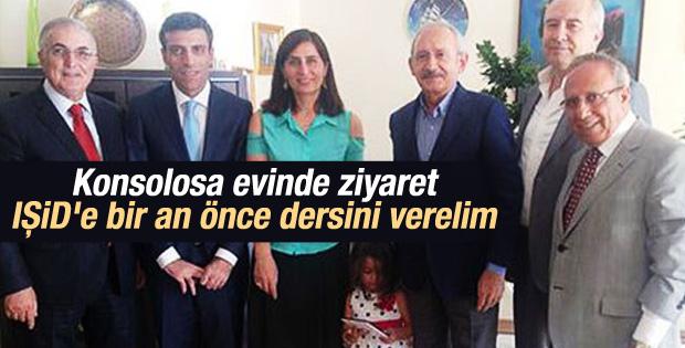 Kılıçdaroğlu Musul Başkonsolosu'nu ziyaret etti