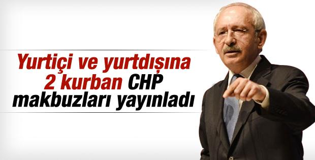 Kılıçdaroğlu kurban bağışını Kızılay'a yaptı