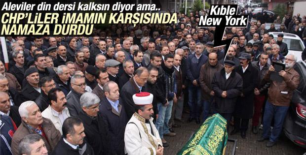 Kılıçdaroğlu'nun kayınvalidesinin cenaze namazı