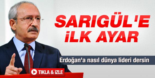 Kılıçdaroğlu'ndan Sarıgül'ün sözlerine tepki - izle