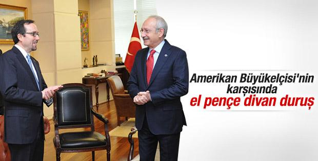 ABD Büyükelçisi Bass'tan Kılıçdaroğlu'na ziyaret
