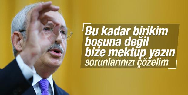 Kılıçdaroğlu: Çark eden parti değiliz