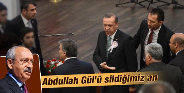 CHP Abdullah Gül'den vazgeçti İZLE