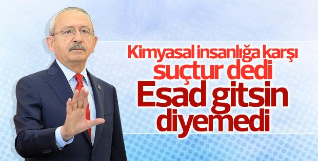 Kılıçdaroğlu'ndan Suriye yorumu