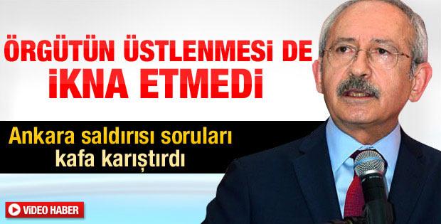 Kılıçdaroğlu'nun şaşırtan Ankara saldırısı çıkışı - izle