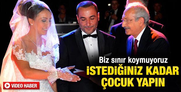 Kemal Kılıçdaroğlu: İstediğiniz kadar çocuk yapın - izle