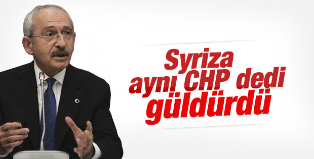 Kılıçdaroğlu Yunanistan'daki seçimi değerlendirdi