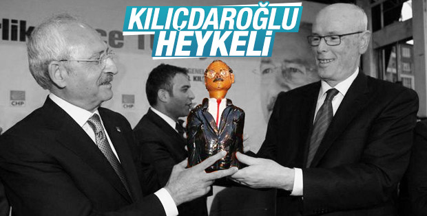 Kılıçdaroğlu'na benzemeyen heykel