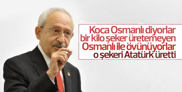 Kılıçdaroğlu'na göre Osmanlı hiçbir şey üretemiyordu