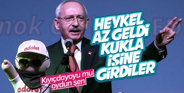 Kemal Kılıçdaroğlu'na kukla hediyesi