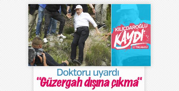 Kılıçdaroğlu uyarı aldı, artık yoldan çıkmayacak