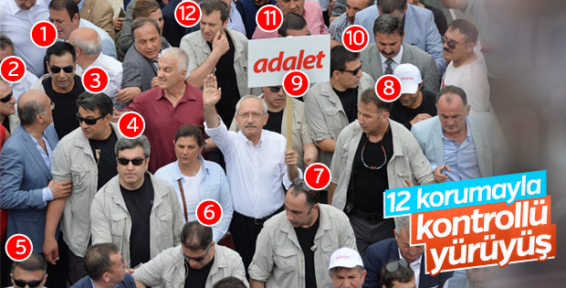 Kemal Kılıçdaroğlu'nun koruma sayısı arttı