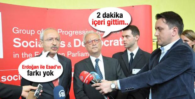 Erdoğan ile Esad'ı benzeten Kılıçdaroğlu'na cevap