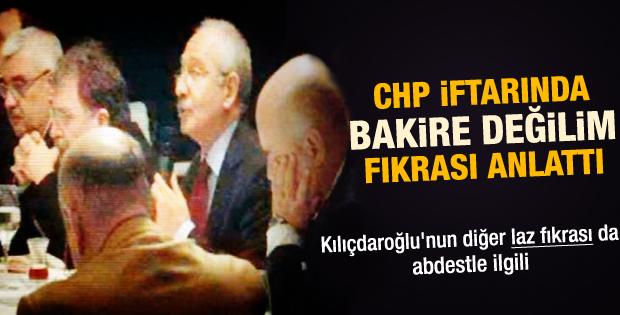 Kılıçdaroğlu iftarda 2 Laz fıkrası anlattı