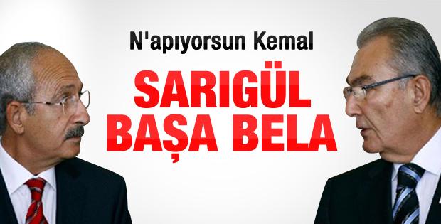 Kılıçdaroğlu ile Baykal arasında Sarıgül çatlağı