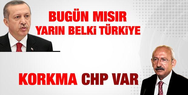 Kılıçdaroğlu: Paranoyaya gerek yok CHP var