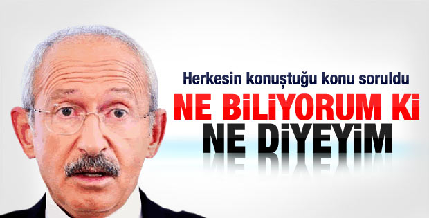 Kılıçdaroğlu'ndan neden Nevruz'u konuşmadık açıklaması