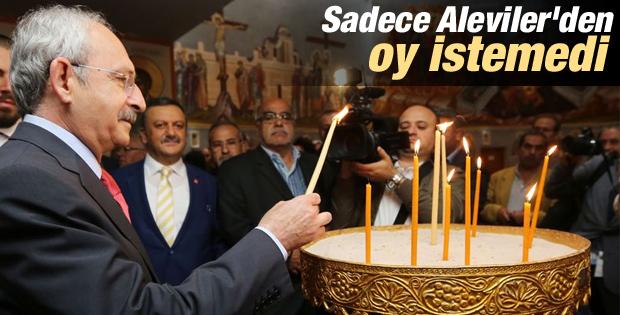 Kılıçdaroğlu Süryani Ortodoks kiliselerini ziyaret etti