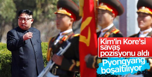 Kuzey Kore'de savaş alarmı: Pyongyang boşaltılıyor