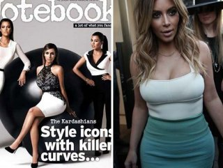 Kim Kardashian photoshopla inceldi